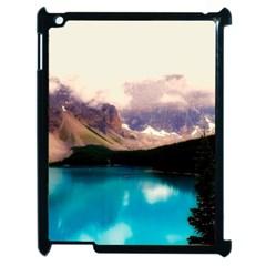 Austria Mountains Lake Water Apple Ipad 2 Case (black)