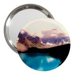 Austria Mountains Lake Water 3  Handbag Mirrors