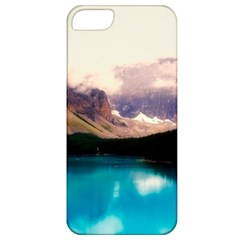 Austria Mountains Lake Water Apple Iphone 5 Classic Hardshell Case