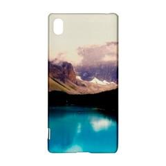Austria Mountains Lake Water Sony Xperia Z3+