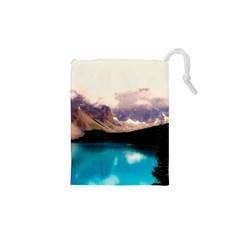 Austria Mountains Lake Water Drawstring Pouches (xs)