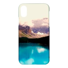 Austria Mountains Lake Water Apple Iphone X Hardshell Case