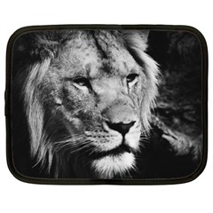 Africa Lion Male Closeup Macro Netbook Case (xl)