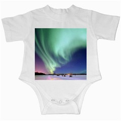 Aurora Borealis Alaska Space Infant Creepers