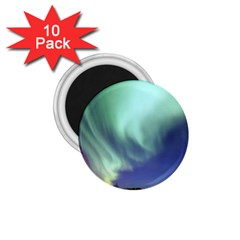 Aurora Borealis Alaska Space 1 75  Magnets (10 Pack)