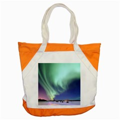 Aurora Borealis Alaska Space Accent Tote Bag