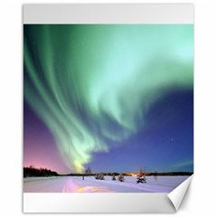 Aurora Borealis Alaska Space Canvas 16  X 20