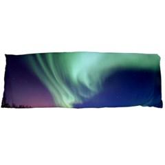 Aurora Borealis Alaska Space Body Pillow Case Dakimakura (two Sides)