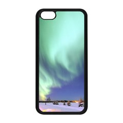 Aurora Borealis Alaska Space Apple Iphone 5c Seamless Case (black)
