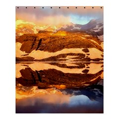 France Snow Winter Sunrise Fog Shower Curtain 60  X 72  (medium)