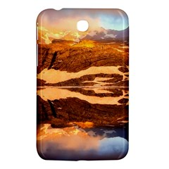 France Snow Winter Sunrise Fog Samsung Galaxy Tab 3 (7 ) P3200 Hardshell Case