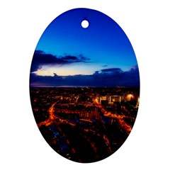 The Hague Netherlands City Urban Ornament (oval)