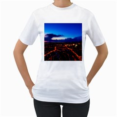 The Hague Netherlands City Urban Women s T Shirt (white) (two Sided)