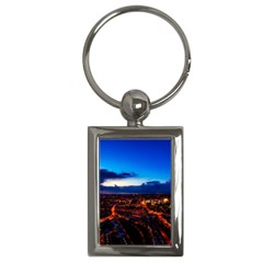 The Hague Netherlands City Urban Key Chains (rectangle)