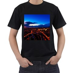 The Hague Netherlands City Urban Men s T Shirt (black) (two Sided)
