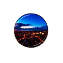 The Hague Netherlands City Urban Hat Clip Ball Marker (4 Pack)