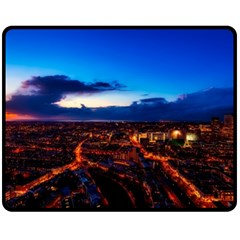 The Hague Netherlands City Urban Fleece Blanket (medium)