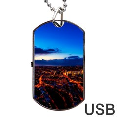 The Hague Netherlands City Urban Dog Tag Usb Flash (two Sides)