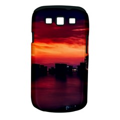 New York City Urban Skyline Harbor Samsung Galaxy S Iii Classic Hardshell Case (pc+silicone)