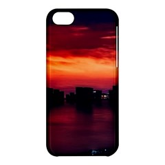 New York City Urban Skyline Harbor Apple Iphone 5c Hardshell Case