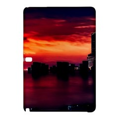 New York City Urban Skyline Harbor Samsung Galaxy Tab Pro 12 2 Hardshell Case