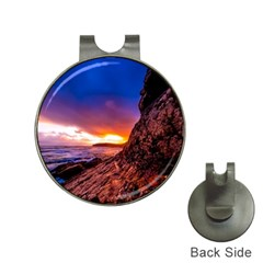South Africa Sea Ocean Hdr Sky Hat Clips With Golf Markers