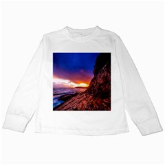 South Africa Sea Ocean Hdr Sky Kids Long Sleeve T Shirts