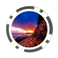 South Africa Sea Ocean Hdr Sky Poker Chip Card Guard