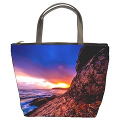 South Africa Sea Ocean Hdr Sky Bucket Bags