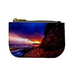 South Africa Sea Ocean Hdr Sky Mini Coin Purses