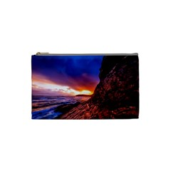 South Africa Sea Ocean Hdr Sky Cosmetic Bag (small)