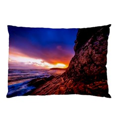 South Africa Sea Ocean Hdr Sky Pillow Case (two Sides)