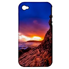 South Africa Sea Ocean Hdr Sky Apple Iphone 4/4s Hardshell Case (pc+silicone)