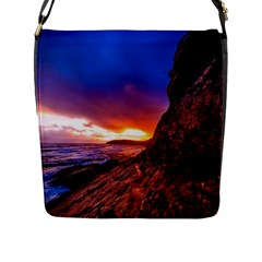 South Africa Sea Ocean Hdr Sky Flap Messenger Bag (l)