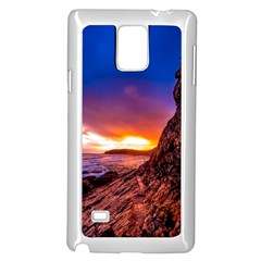 South Africa Sea Ocean Hdr Sky Samsung Galaxy Note 4 Case (white)