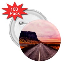 Iceland Sky Clouds Sunset 2 25  Buttons (100 Pack)