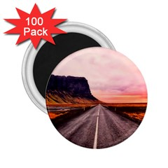 Iceland Sky Clouds Sunset 2 25  Magnets (100 Pack)
