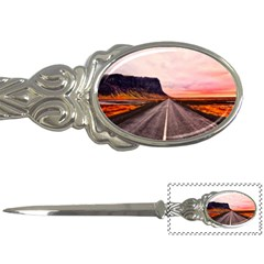 Iceland Sky Clouds Sunset Letter Openers