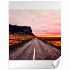Iceland Sky Clouds Sunset Canvas 12  X 16