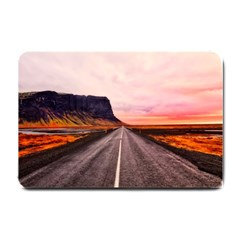 Iceland Sky Clouds Sunset Small Doormat