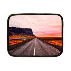 Iceland Sky Clouds Sunset Netbook Case (small)