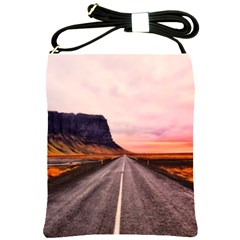 Iceland Sky Clouds Sunset Shoulder Sling Bags