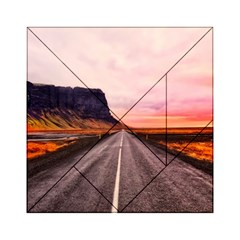 Iceland Sky Clouds Sunset Acrylic Tangram Puzzle (6  X 6 )
