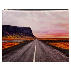 Iceland Sky Clouds Sunset Cosmetic Bag (xxxl)