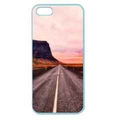 Iceland Sky Clouds Sunset Apple Seamless Iphone 5 Case (color)