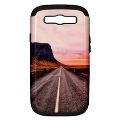 Iceland Sky Clouds Sunset Samsung Galaxy S Iii Hardshell Case (pc+silicone)