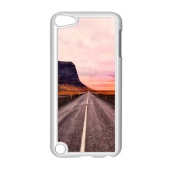 Iceland Sky Clouds Sunset Apple Ipod Touch 5 Case (white)
