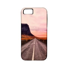 Iceland Sky Clouds Sunset Apple Iphone 5 Classic Hardshell Case (pc+silicone)