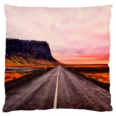 Iceland Sky Clouds Sunset Standard Flano Cushion Case (two Sides)