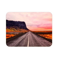Iceland Sky Clouds Sunset Double Sided Flano Blanket (mini)